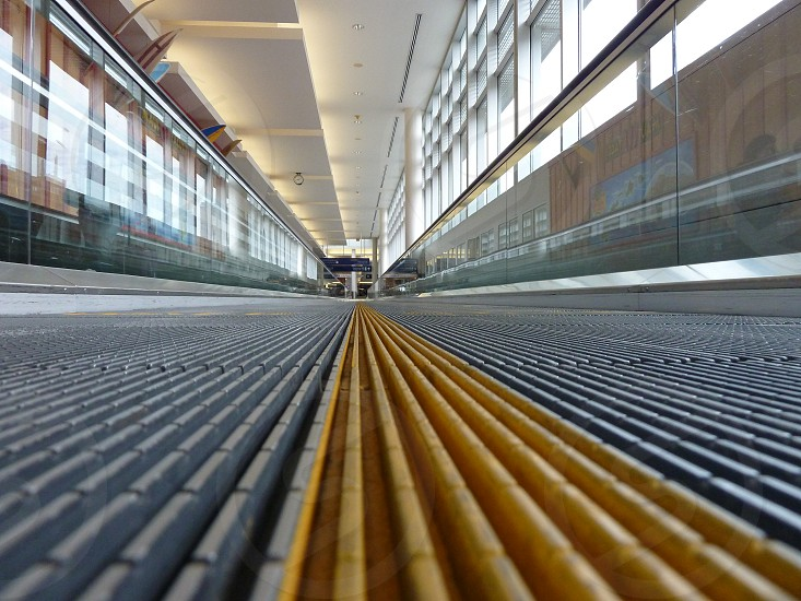 Moving Sidewalk airport Minneapolis photo