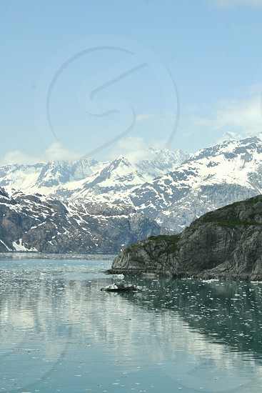 Glaciers in Alaska photo