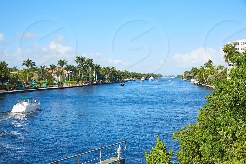 Del Ray Delray beach Gulf Stream in Florida USA photo
