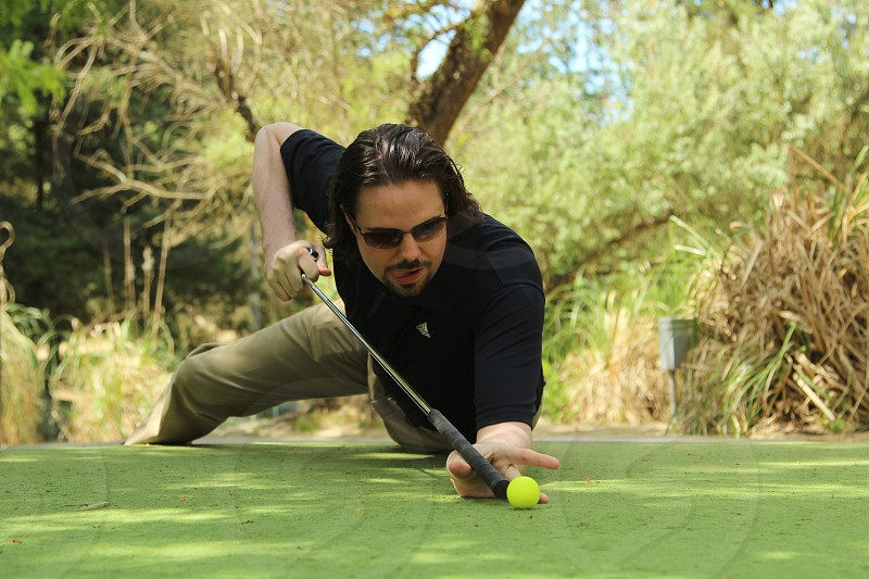 Minigolf is serious business at the Annual Child's Play Golf Tournament this year taking place in Redmond WA. photo