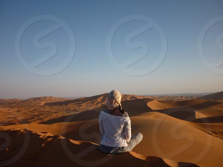 Desert lady photo