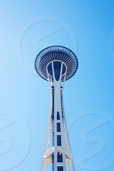 Space needle in The day  photo