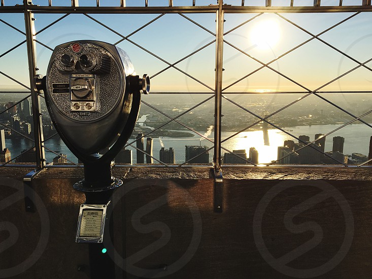 Empire State Building New York sunrise photo