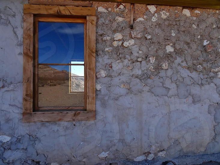 Rhyolite ghost town photo
