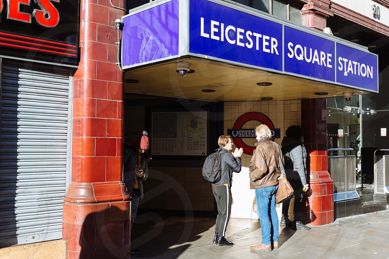 Leicester Square London photo