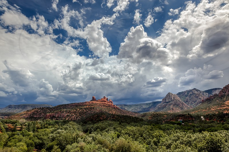 Mountains at Sedona Arizona photo