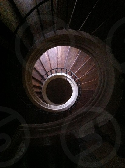 Rounded Stairs in Kostnice kutna hora czech republic photo