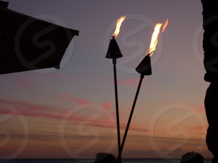 Waikiki sunset photo