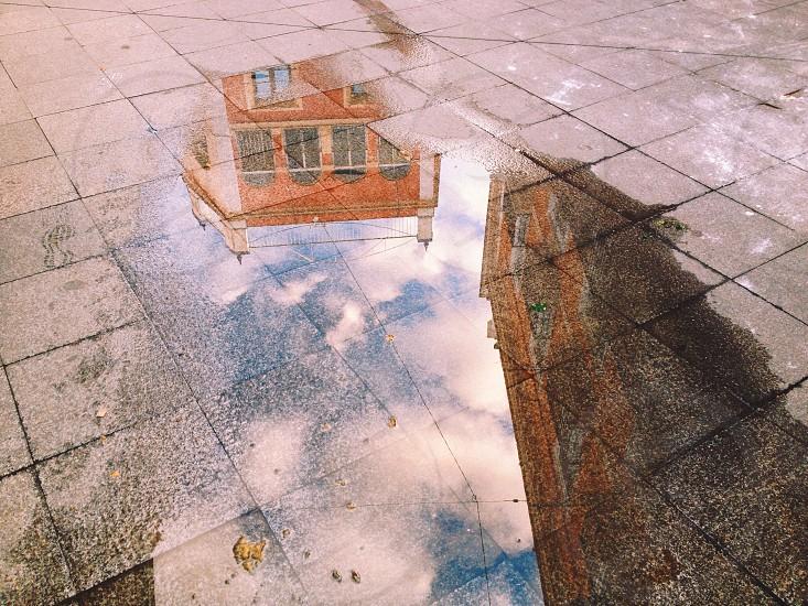 Europe reflection street photo