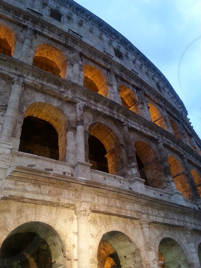 The Colosseum in Rome Italy  photo