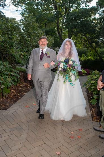 A recent wedding from Morton Arboretum in Wheaton IL. photo
