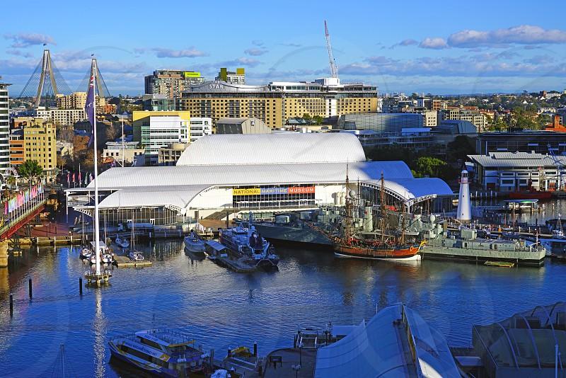 The Australian National Maritime Museum in Darling Harbour Sydney Australia photo