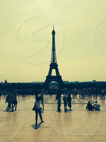 Your Eiffel photo