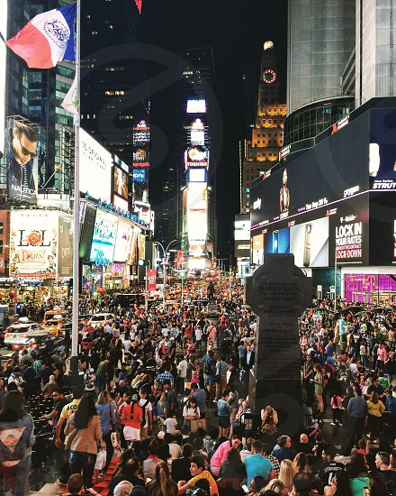 Times Square  New York USA  photo