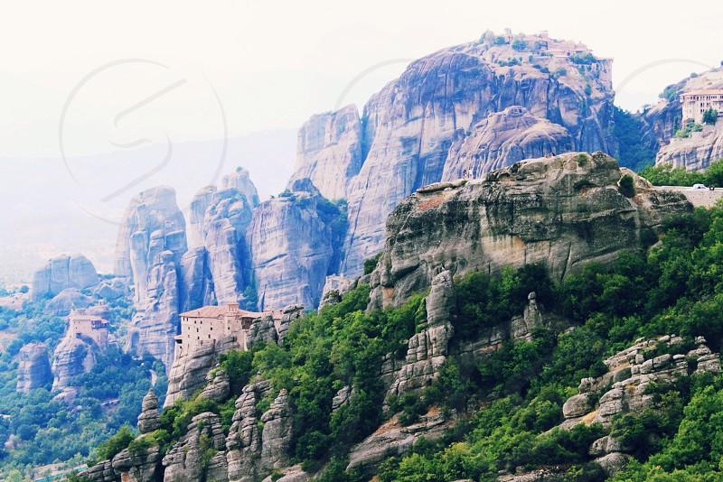 Monasteries of Meteora  Greece photo
