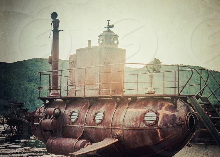 Submarine . #underwater #diving #sea  #vehicles photo