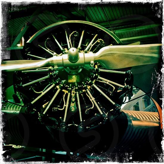stainless steel plane propeller photo