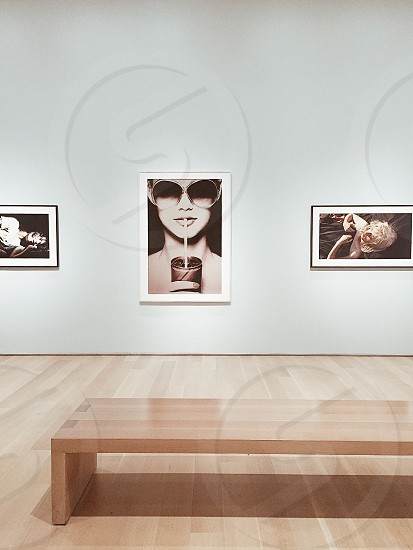 Sippin on gin and juice. Museum Art Chicago Modern City Portrait Contemporary photo