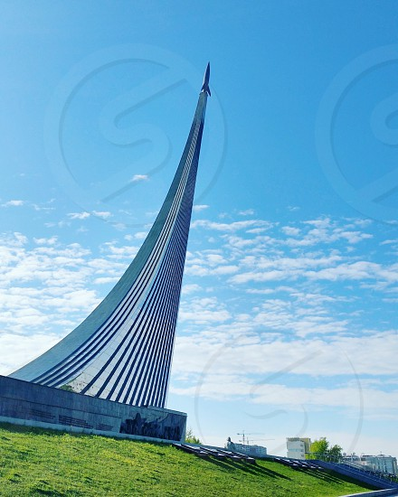 Conquerors of space monument- Moscow Russia photo