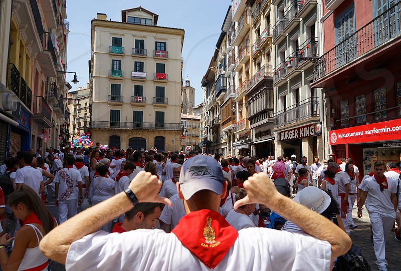 San Fermin Pamplona. photo