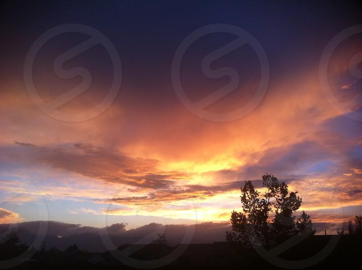 Colorado Sunset photo