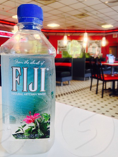Fuji water in Restaurant  photo