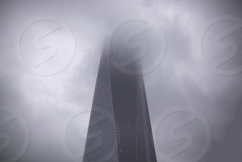 Fog in New York photo