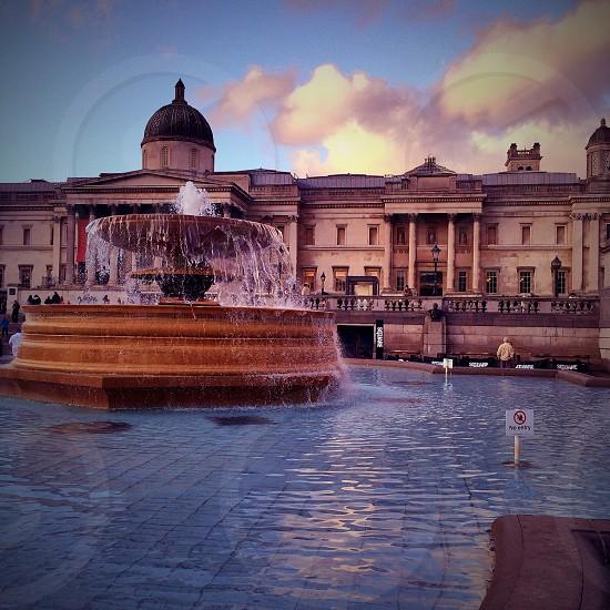 Trafalgar Square • London   photo