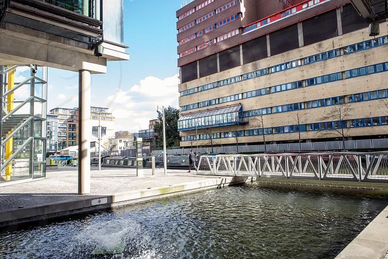 Rolling Bridge Paddington London photo