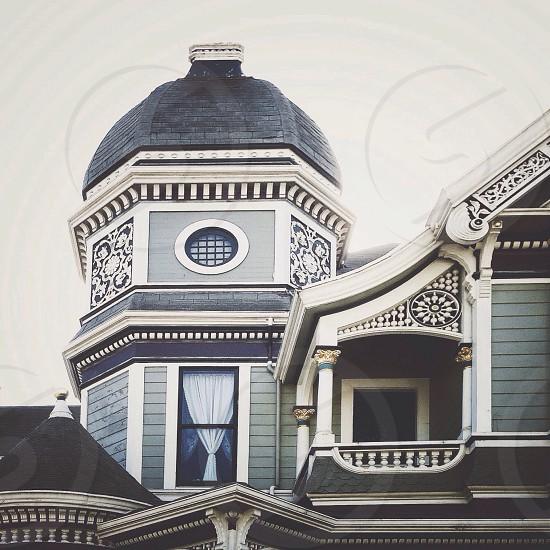 Victorian house on Alameda Island California photo