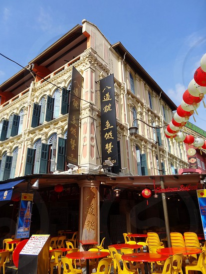 Restaurant in China Town photo