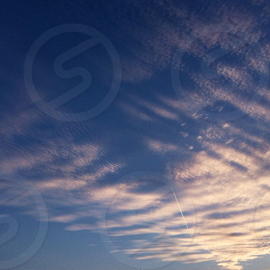 Stratus clouds photo