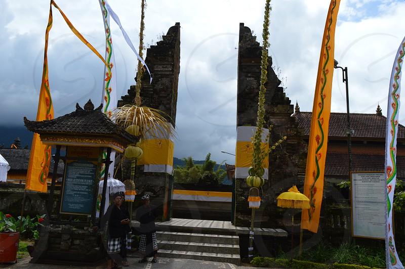 Bratan Candi Kuning Bali photo