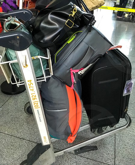 Luggage for travelling photo