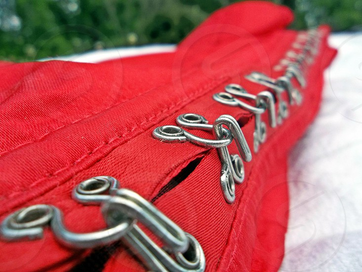Red Corset photo