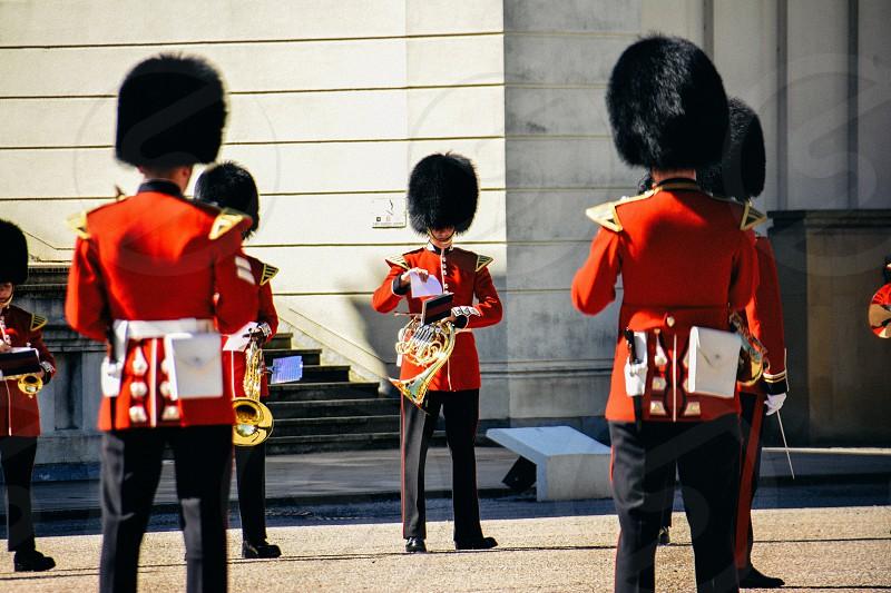 London royal guards guards buckingham palace royal photo