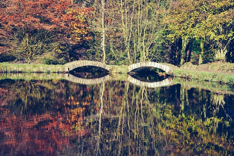 Reflection: bridge eyes  photo