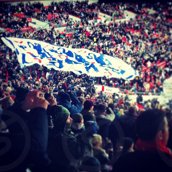England football wembley stadium  photo