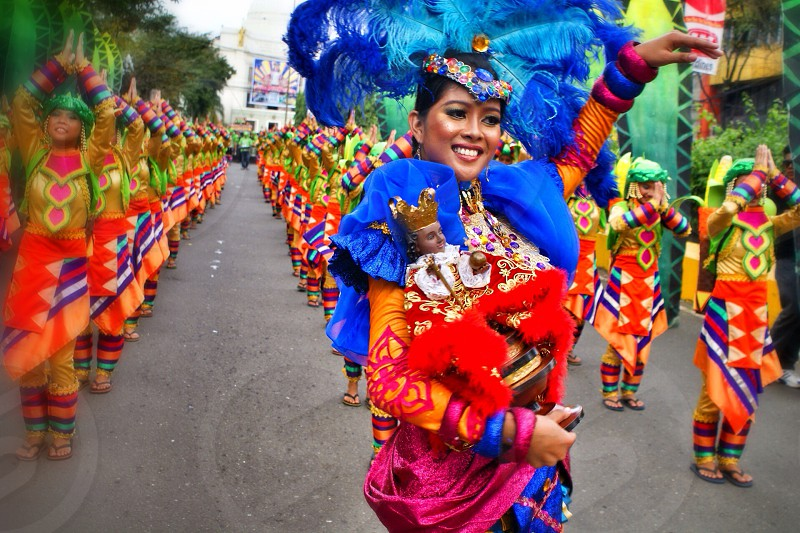Sinulog Festival in Cebu Philippines photo