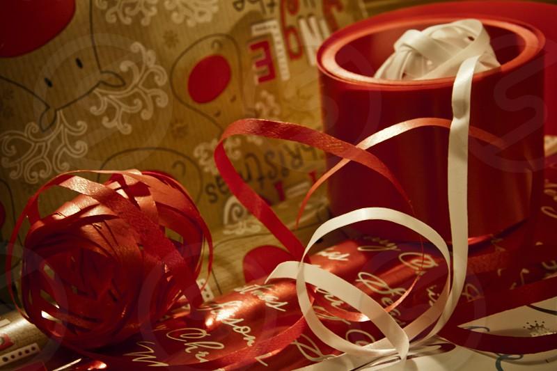 Christmas wrapping photo