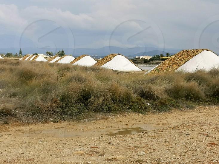 Salt pans of Sicily (Trapani - Nubia) photo