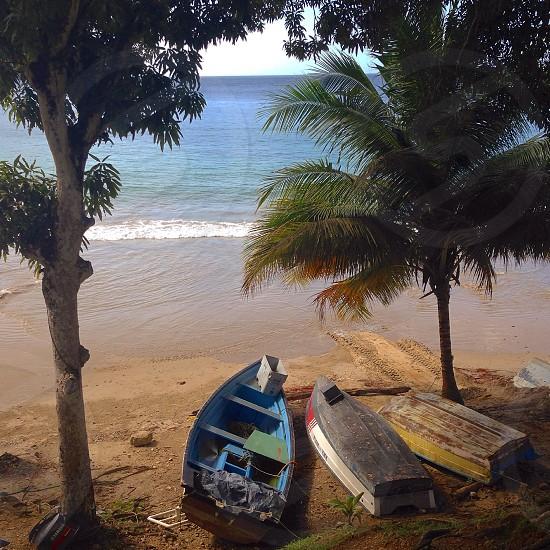 Beach boats #beach #boats #sand photo