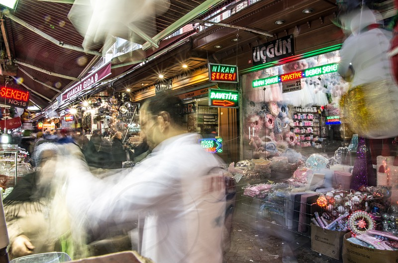 Spice market in Istanbul photo