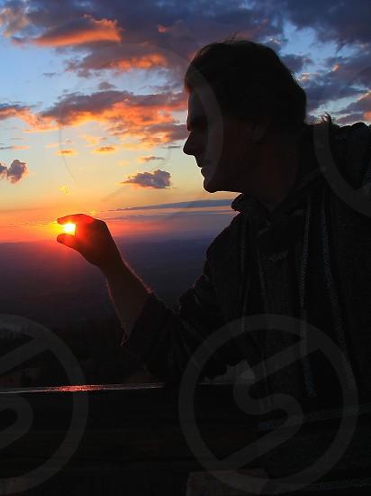 Captured sunrise photo