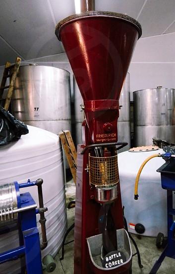 Wine bottle corker wine making cork machine  photo