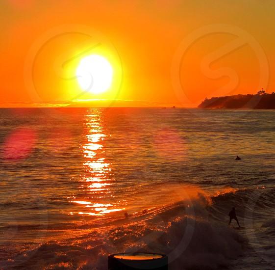Laguna Beach Ca Sunset  photo