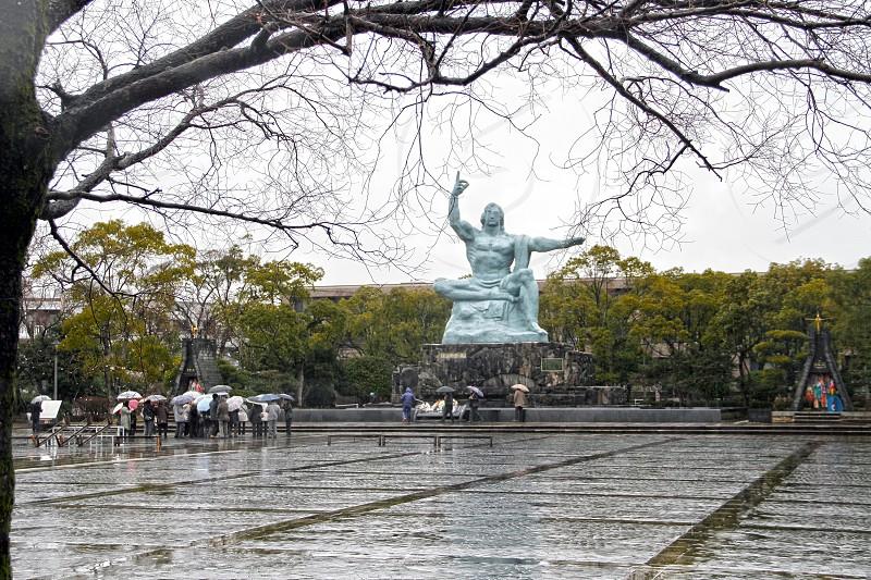 Nagasaki Peace Park Nagasaki Japan. photo