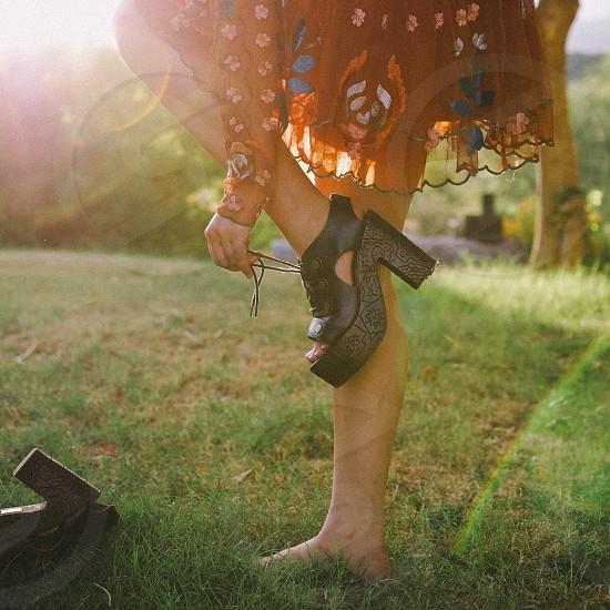 Shoes Fashion Clothing Sunshine Rainbow photo
