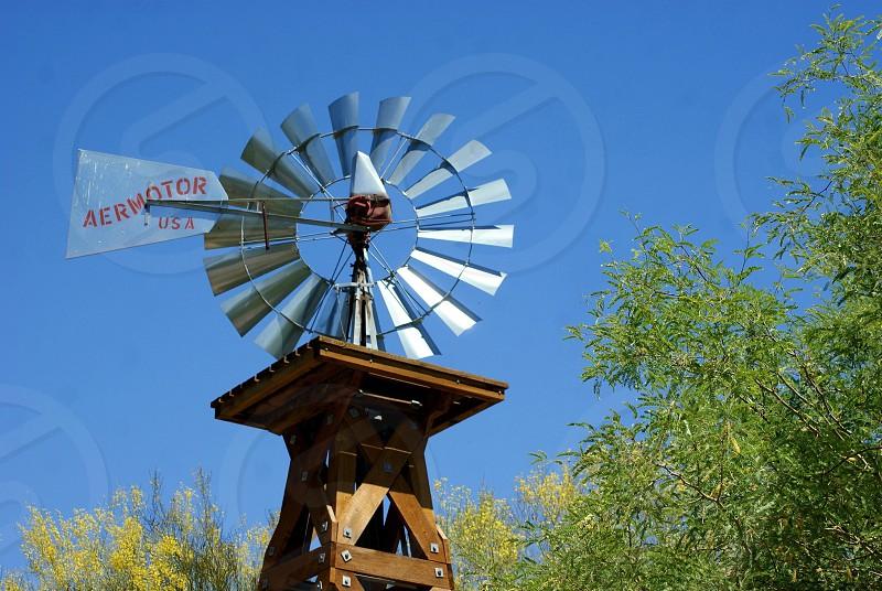 Windmill wind energy energy earth day renewable energy photo
