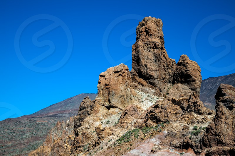 Mount Teide and it's surrounding area photo